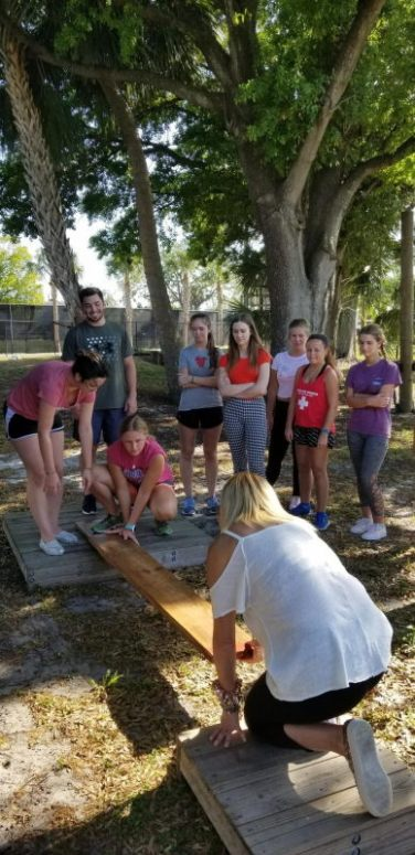 Honors Students Team Building